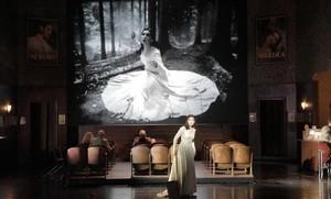 La soprano Adela Zaharia (Angelica), en Orlando Paladino, de Joseph Haydn, en una nueva producción de la Ópera de Baviera, en Múnich.