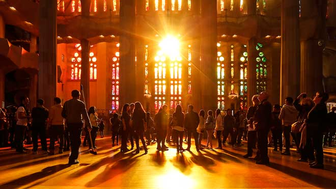 La Sagrada Família, protagonista del programa 'Lugares legendarios' de DMAX.