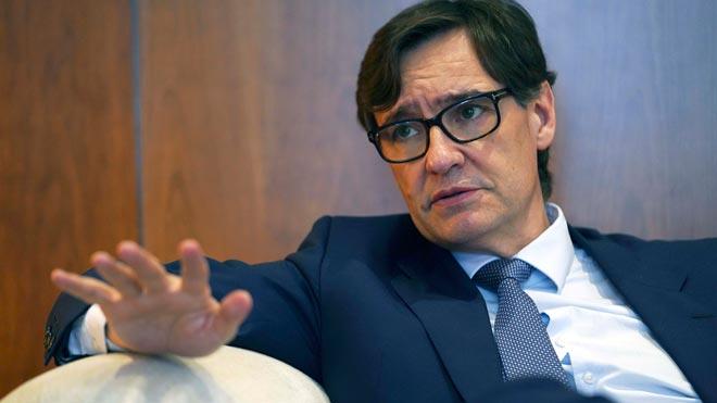 Salvador Illa: Sería un error usar la mesa de diálogo como arma electoral.