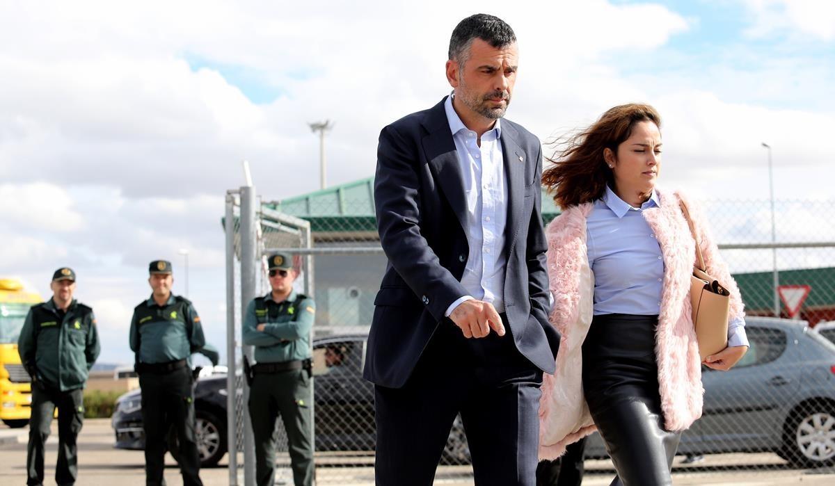 Santi Vila sale de la cárcel este viernes, tras pagar la fianza de 50.000 euros.