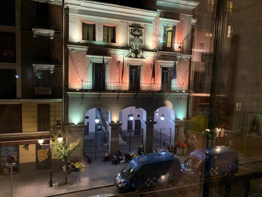 Imagen de la sede del Samur Social en Madrid.