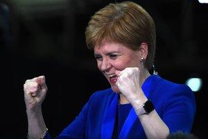 Els nacionalistes de Nicola Sturgeon arrasen a Escòcia en les eleccions