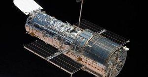 El telescopio Hubble.