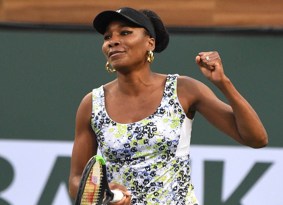 Venus Williams, incuestionable.