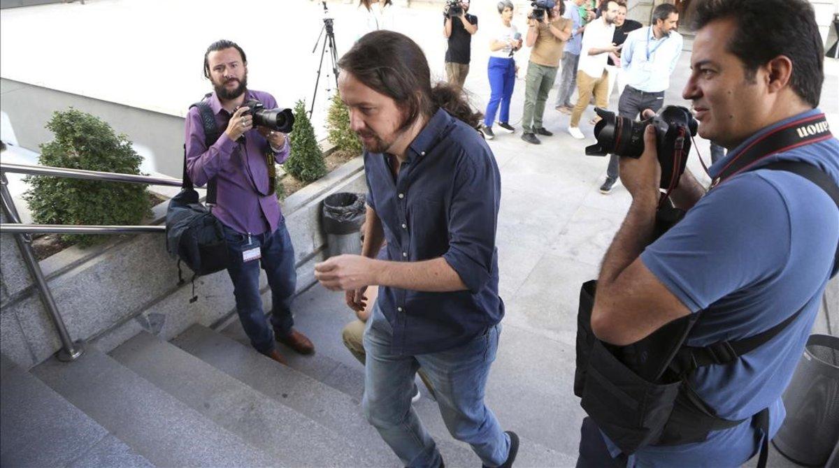 Iglesias tornarà a exigir una coalició en la reunió clau