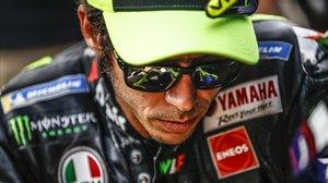 Valentino Rossi, que hoy cumple 41 años, en una imagen reciente.