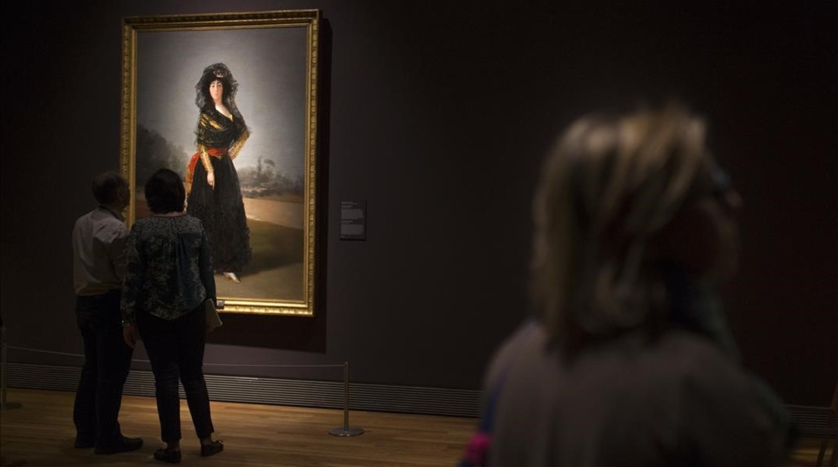 La duquesa de Alba (1796-1797), de Goya.
