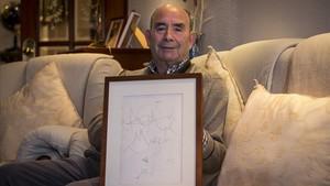 """Miguel Moreno: """"Dalí em va fer un dibuix perquè el vaig tractar com un més"""""""