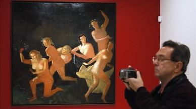 Derain, Giacometti y Balthus, en comunión