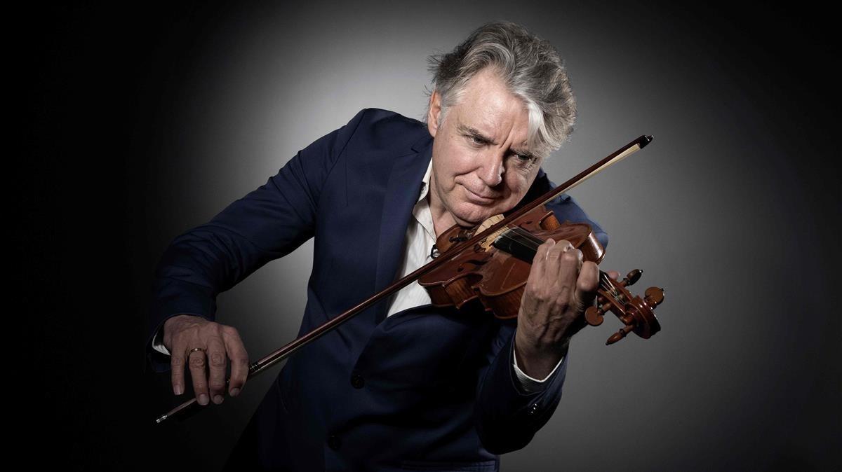 El célebre violinista Didier Lockwood.