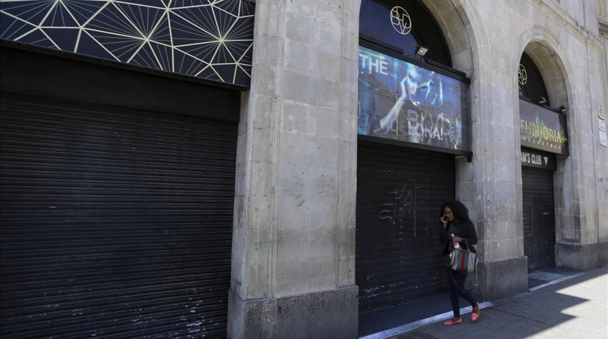 """A la porta de la disco: """"No volem marroquins"""""""