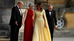 Trump burxa a la ferida de Theresa May