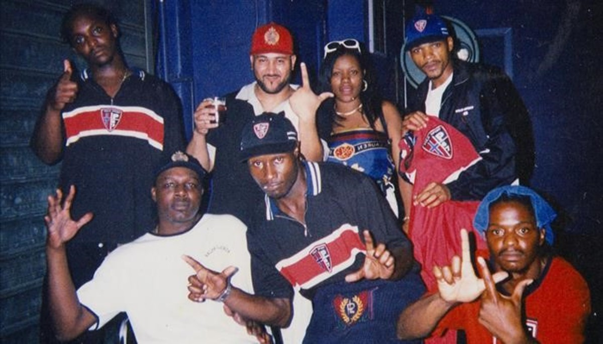 El rapero Thirstin Howl III y sus colegas lo lifes, en una foto de la época.