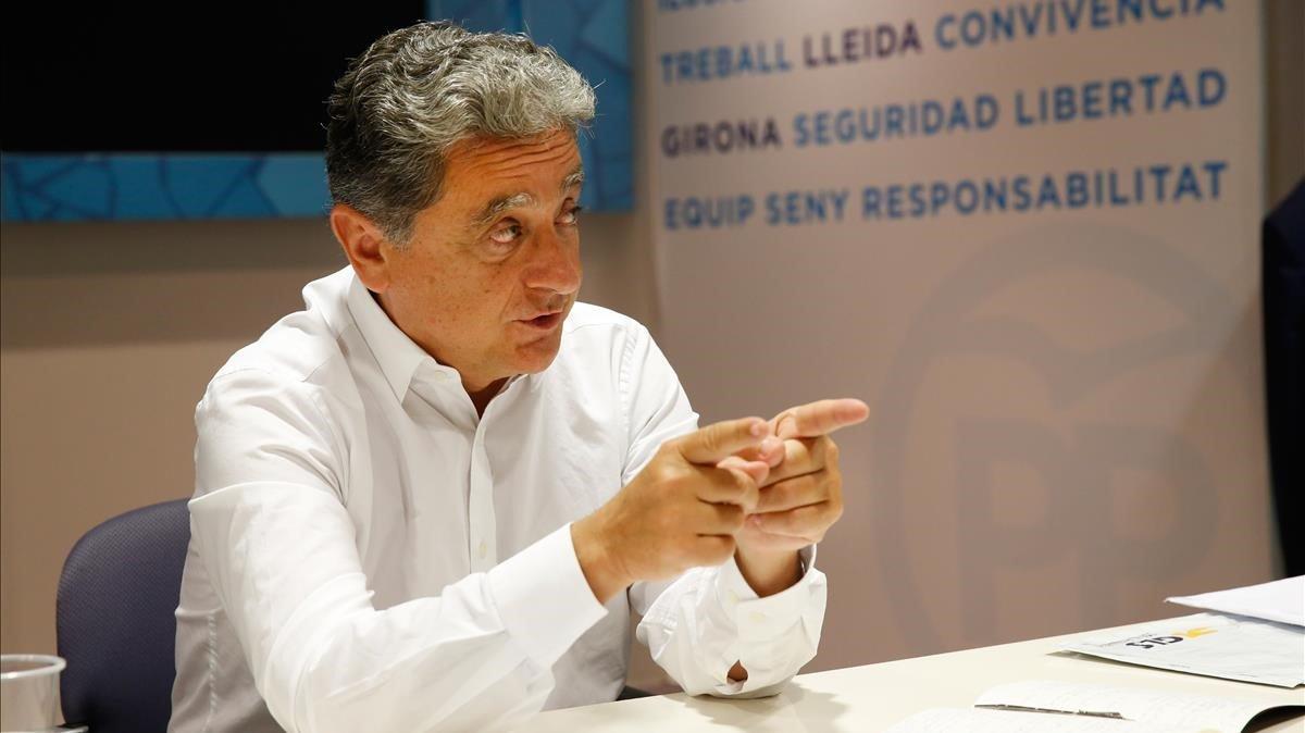 Enric Millo, exdelegado del Gobierno en Catalunya.