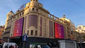 Campaña Nosotras parimos, nosotras decidimos en Callao, Madrid