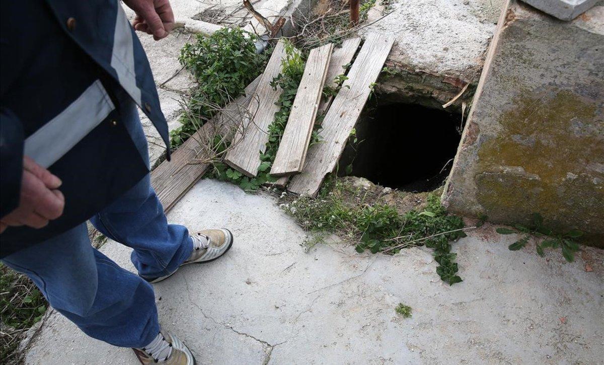 La història darrere dels perillosos pous abandonats a Badalona
