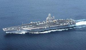 """Els EUA envien un portaavions el Pròxim Orient per les """"amenaces"""" de l'Iran"""