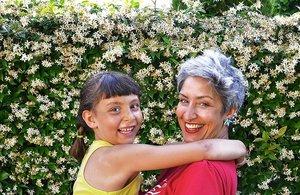 Silvia Lana, con su hija Lola Pecorella.