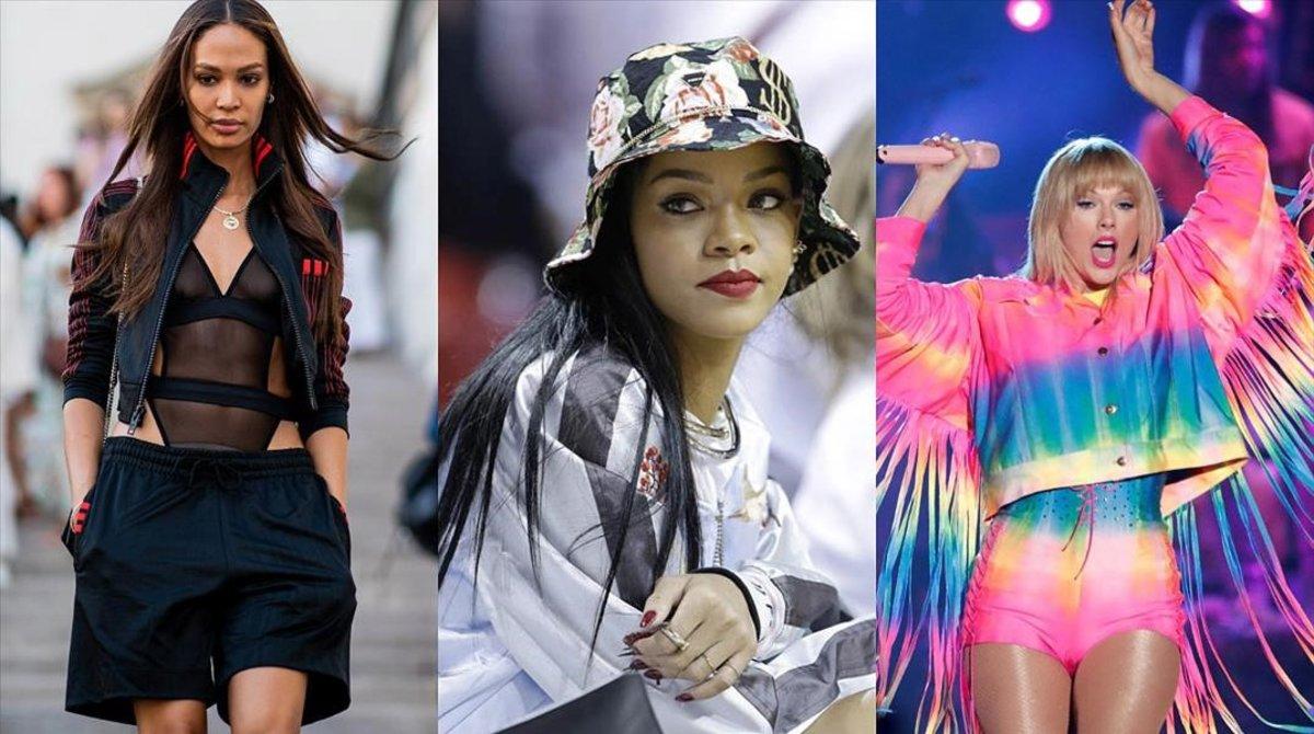 Rihanna i Taylor Swift s'apunten a la moda lletja