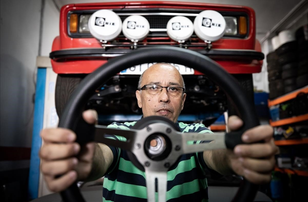 Manel Fernández: «Exhibeixes el cotxe, expliques les millores, expliques batalletes...»