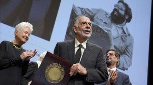 Francis Ford Coppola, el pasado viernes en Lyón, donde recibió el premio Lumière.