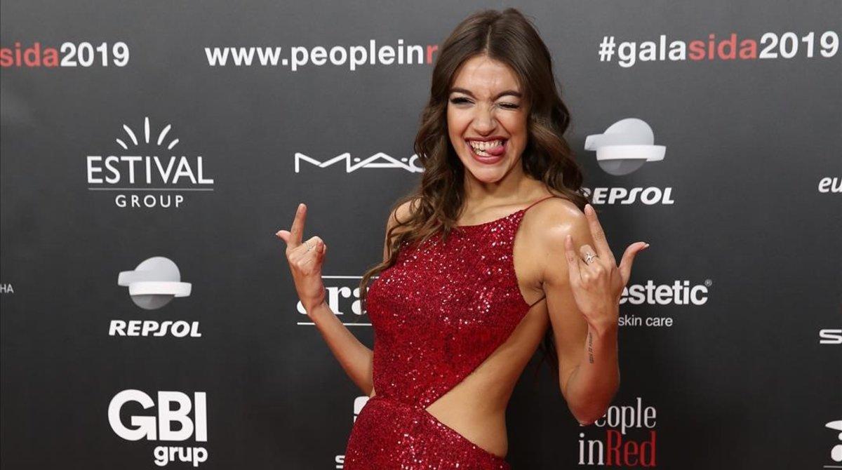 Anna Guerra, divertida y concienciada.