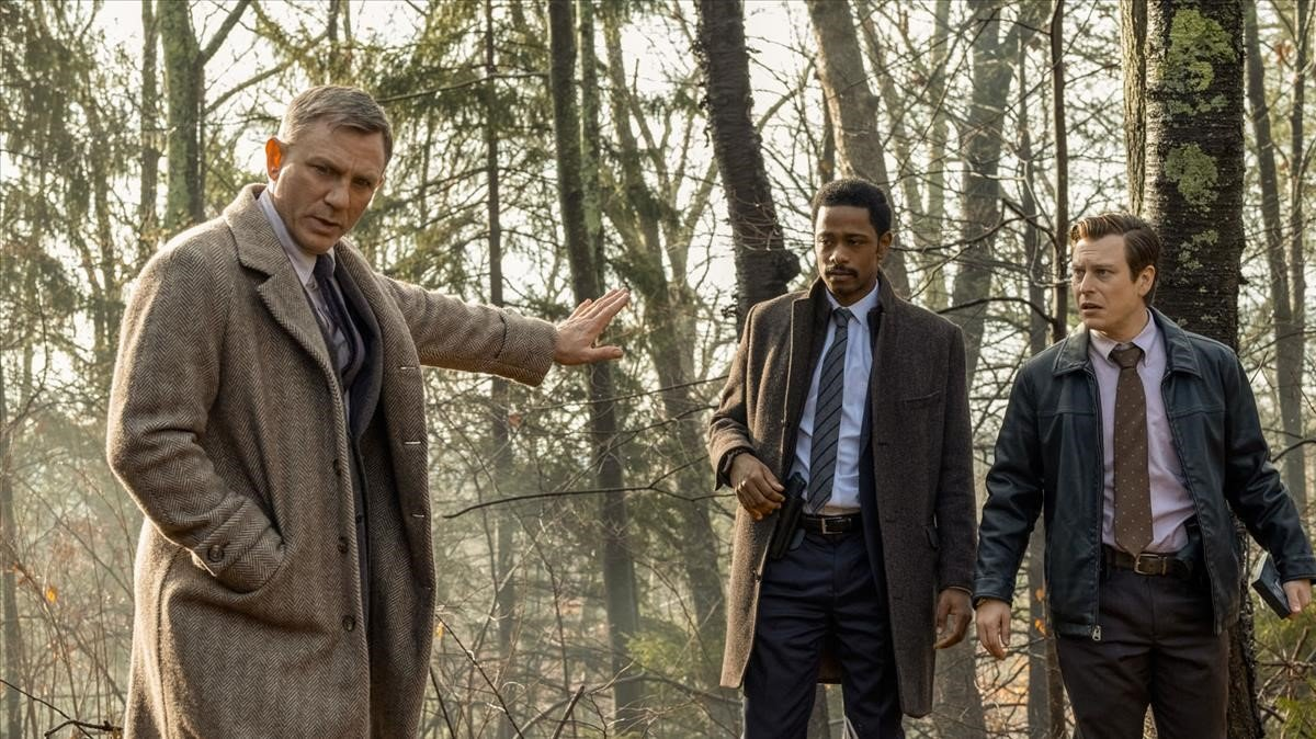 Daniel Craig en 'Puñales por la espalda'.