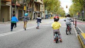 Esplugues tallarà al trànsit un carrer de la ciutat cada mes per programar activitats familiars