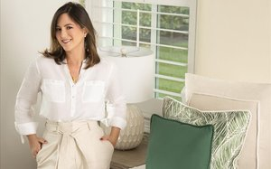 Chabeli Iglesias presenta la seva marca de roba per a la llar