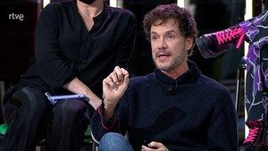 Daniel Grao durante el debate (TVE-1).