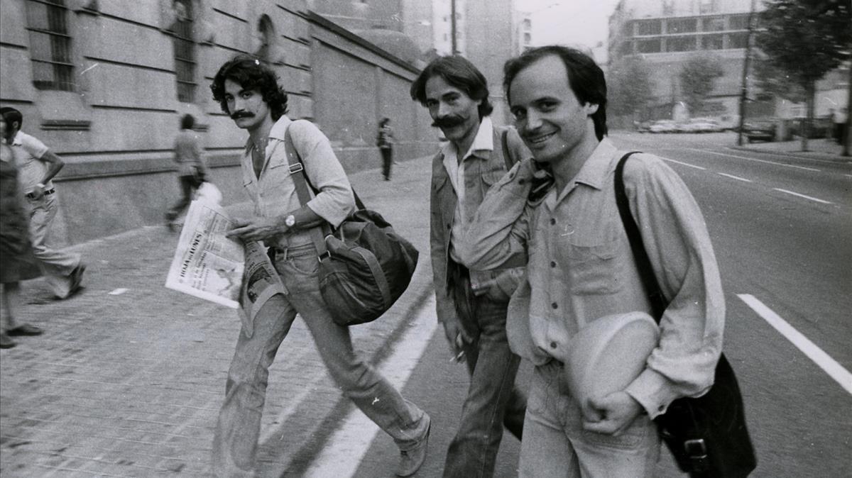 Imagen de archivo de Arnau Vilardebò, uno de los actores de Els Joglars que fue encarcelado por La Torna.