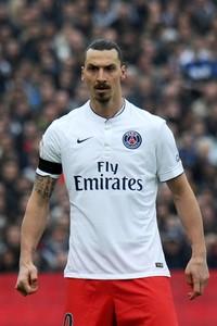 Zlatan Ibrahimovic, després de caure derrotat davant el Girondins de Bordeus.
