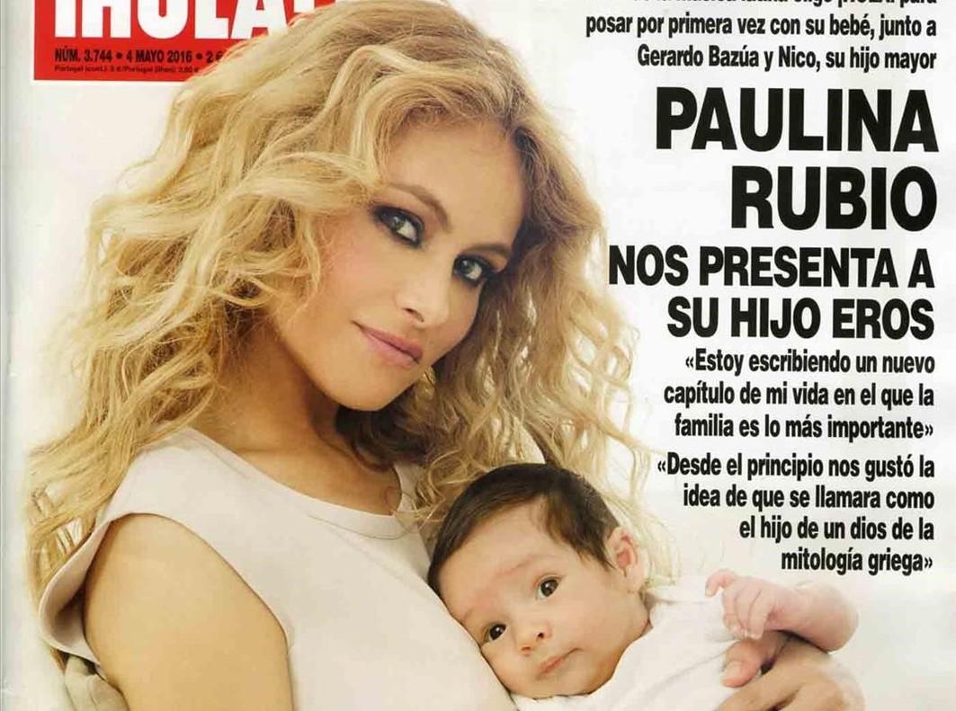 Paulina Rubio Presenta A Su Segundo Hijo
