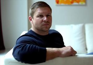 Kevin Lacz, la pasada semana, en un hotel de Madrid donde tuvo lugar la entrevista.
