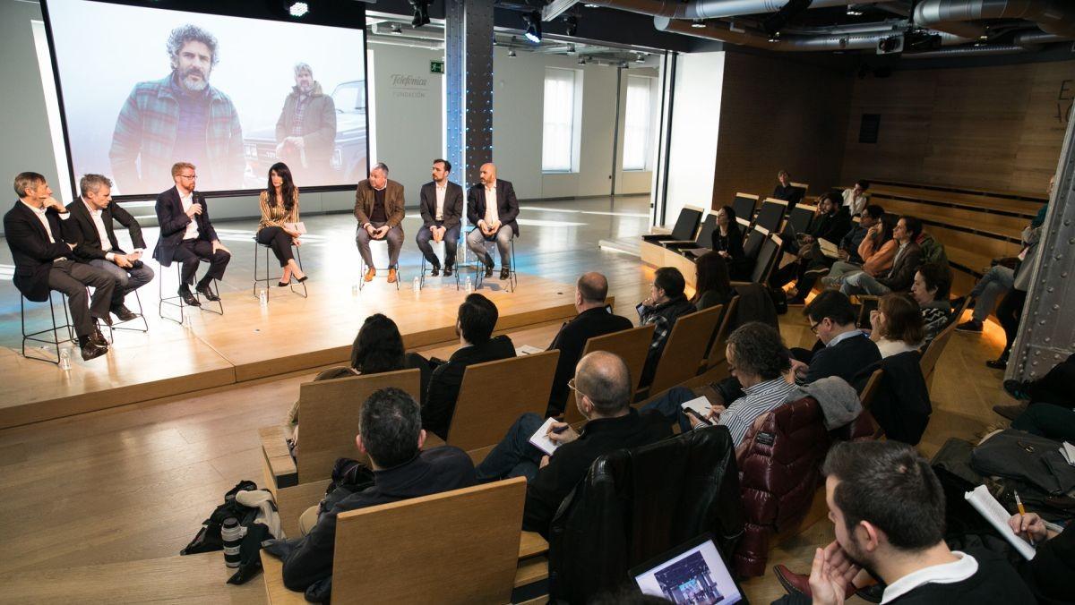 Presentación del nuevo Movistar Series para Latinomérica.