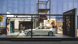 BMW acude en el MWC este 2018.
