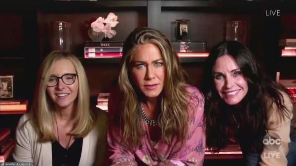 Las chicas de 'Friends' se reúnen en casa de Aniston por los Emmys 2020