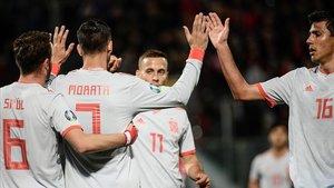 La punteria de Morata salva el tràmit d'Espanya sobre Malta