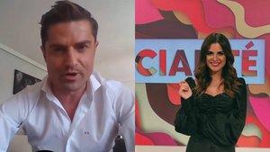 """La joven que apareció en el directo de Alfonso Merlos es Alexia Rivas, reportera de 'Socialité': """"Vive conmigo"""""""