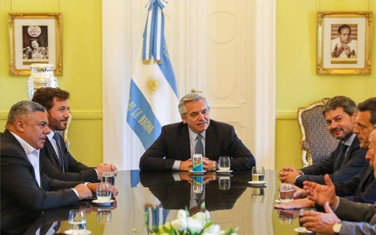 El president argentí llança el seu pla contra la fam