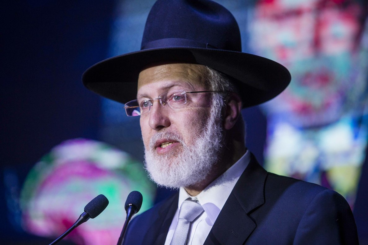 Gabriel Davidovich, gran rabino de Argentina. AP
