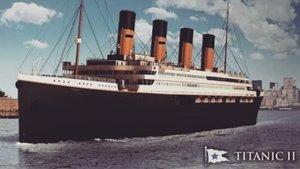 Así será el 'Titanic 2', la réplica moderna del más famoso transatlántico de la historia.