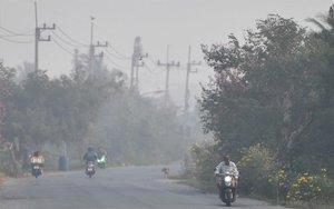 La nuve tóxica que cubre a Bangkok.