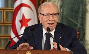 Beji Caid Essebi, presidente de Túnez.