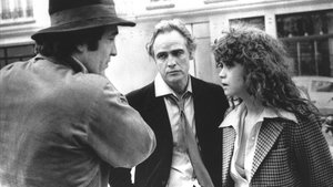 Bertolucci, Brando y Maria Schneider, durante el rodaje de 'El último tango en París'.