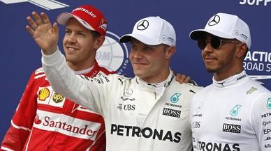 Hamilton falla y Bottas atrapa la segunda pole de su carrera