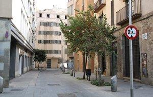 La calle del Pou de la Figuera, en el barrio de La Ribera.