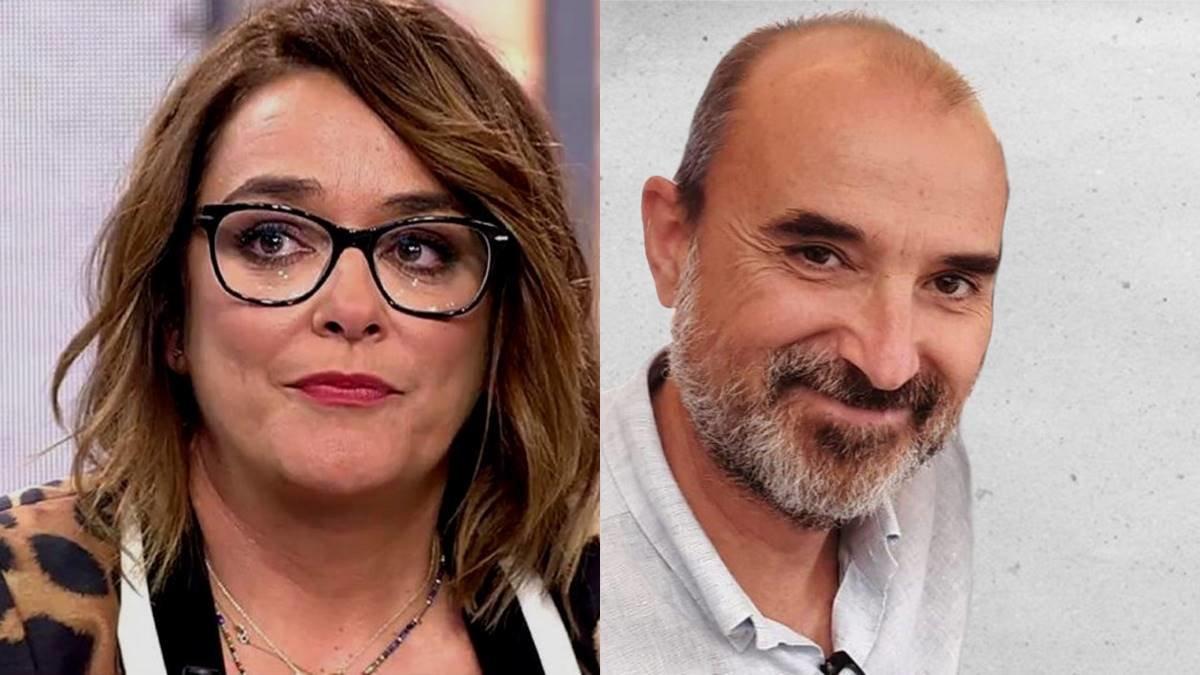 Toñi Moreno llora la repentina muerte en un accidente de Luis Martínez, directivo de Canal Sur