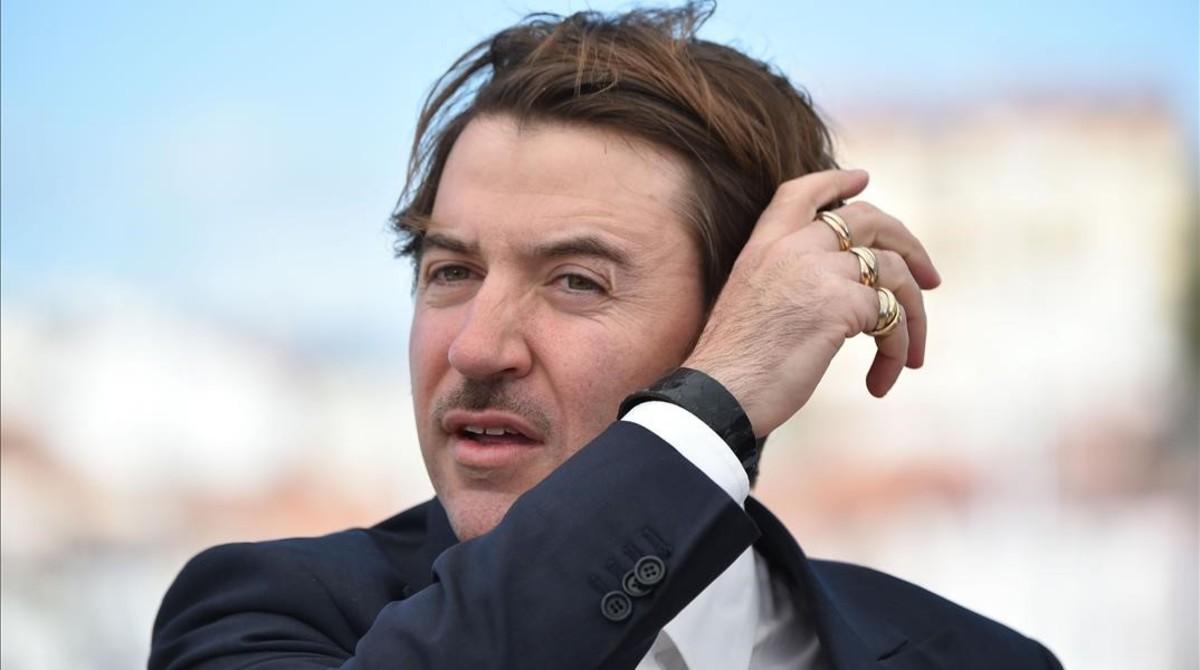Albert Serra, en la presentación de La mort de Louis XIV en Cannes.
