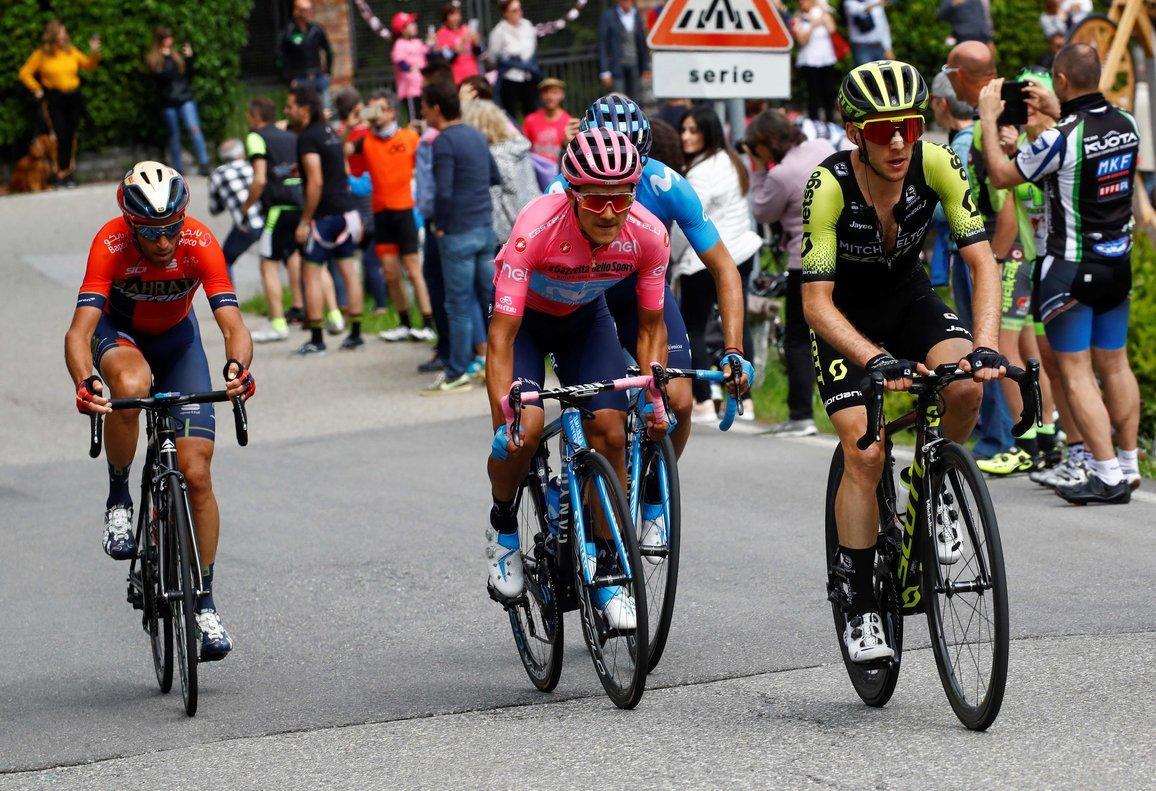 Carapaz, més líder del Giro